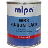 MIPA WBS PU-BUNTLACK GLZ RAL 9010 – Vizes bázisú PU erősítésű fényes akrilfesték