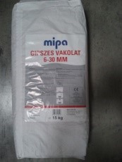 MIPA Gipszes vakolat 6-30 mm 15 kg